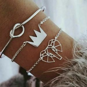 Jewelry - NWT BUY 2 GET 1 FREE SET OF 3 FESTIVAL BRACLETS